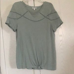 Teal top from Maurices